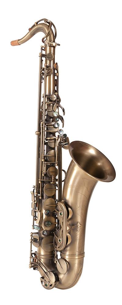TS910AQ Tenor Saxophone (Antique Brass)